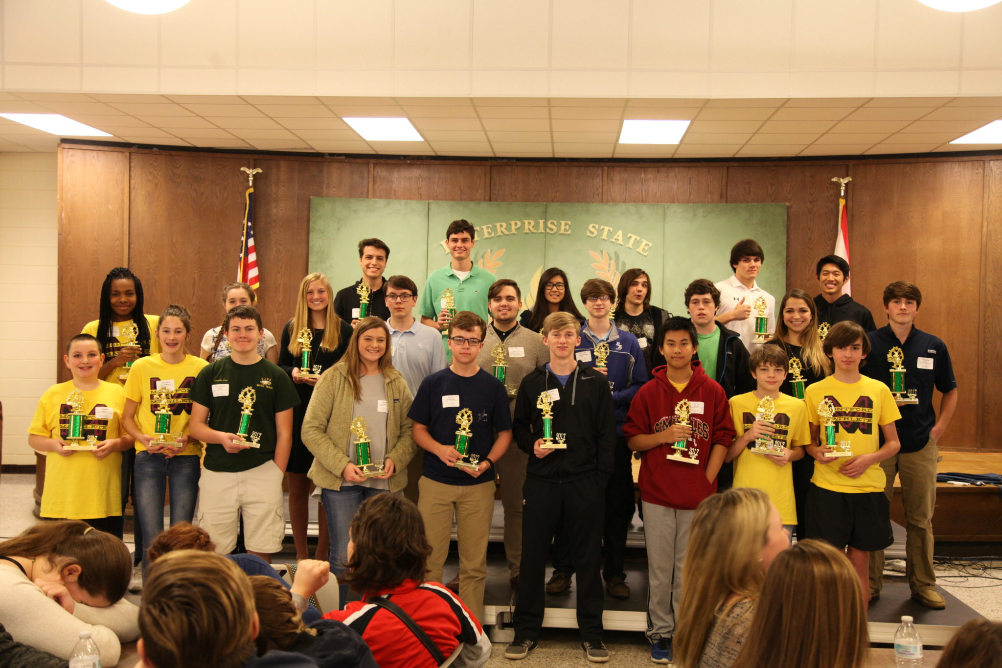 Enterprise State Community College Hosts Math Tournament
