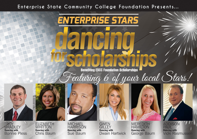 ESCC's Michael Harrison among STARS in ESCC Foundation's first Dancing for Scholarships Event