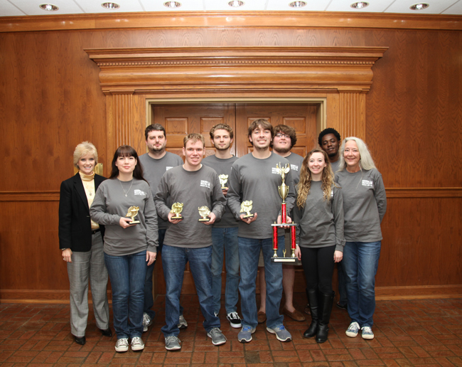 ESCC Cerebral Weevils Place Fourth in the Nation at Academic Quiz Bowl