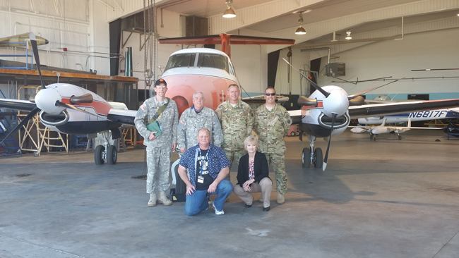ESCC's Alabama Aviation Center at Ozark Receives Multiple Aircraft from Army