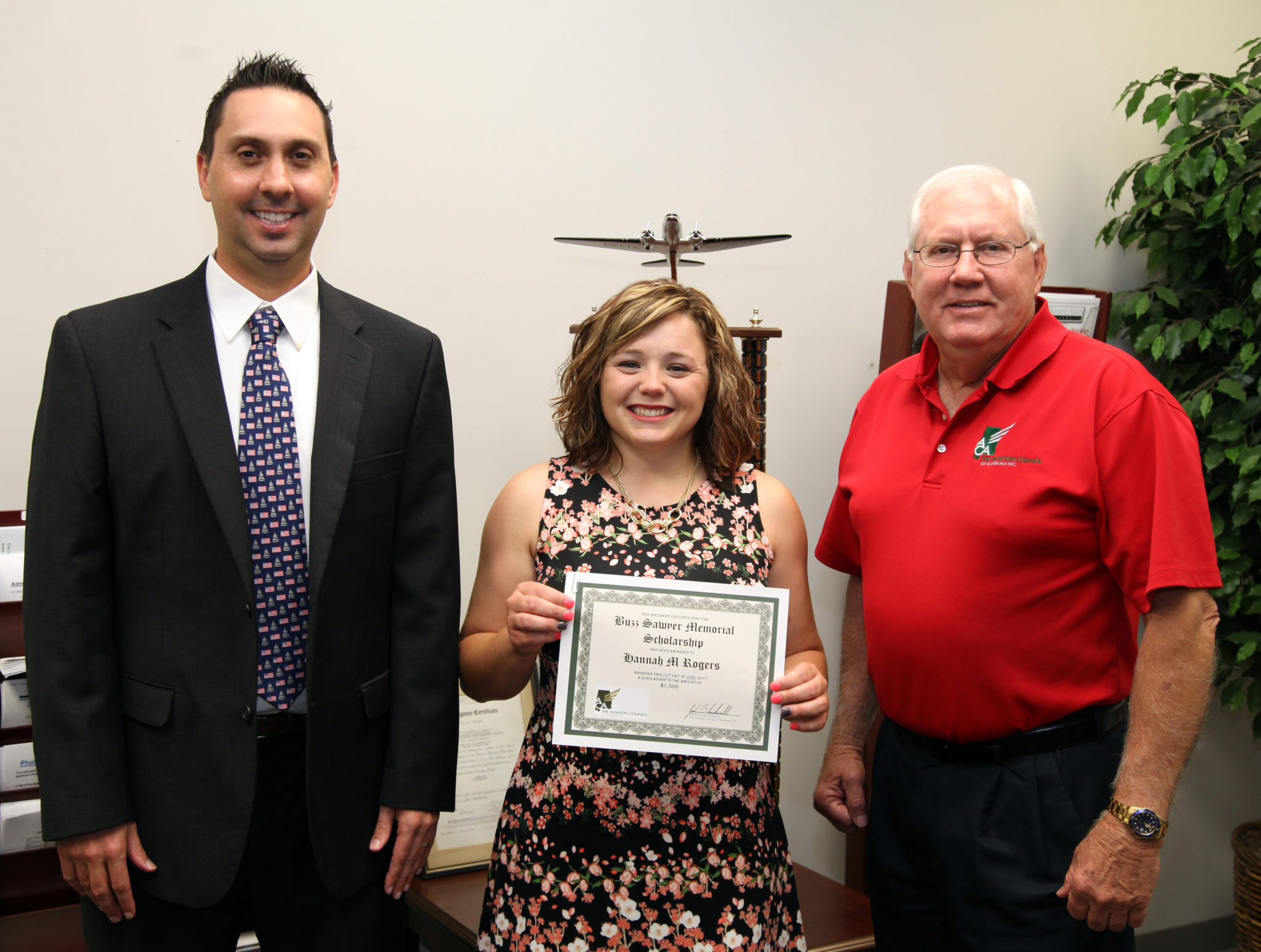 First Annual Buzz Sawyer Memorial Scholarship awarded to AAC Student