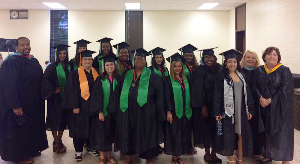 22 ESCC/AAC Student Support Services Graduate in Spring Semester