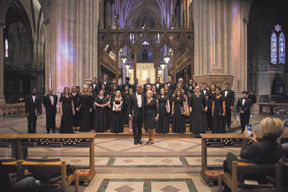 ESCC choir sings at the National Cathedral