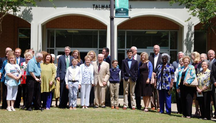 Talmadge honored with commendation