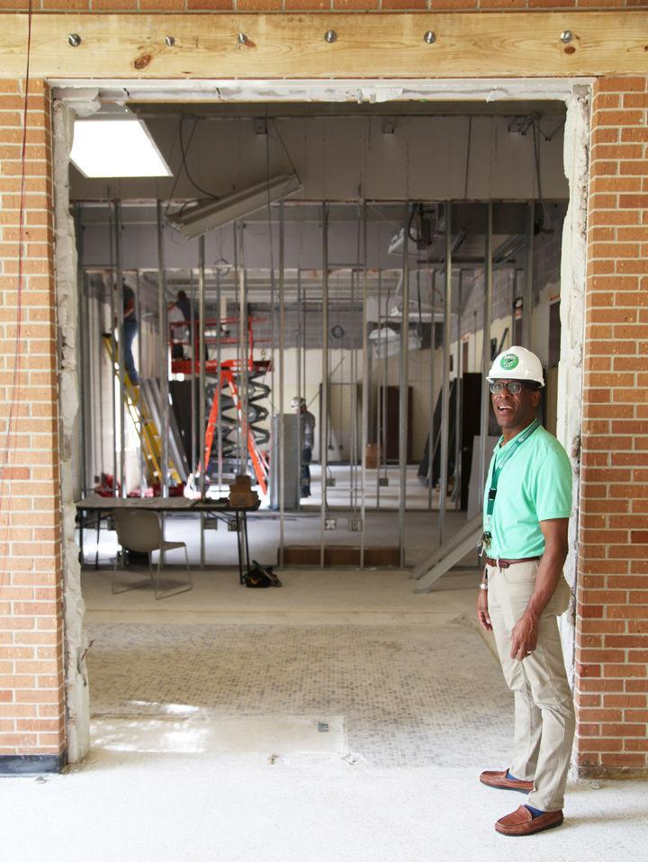 Forrester Hall renovations underway at ESCC