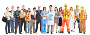Multiple career paths ranging from student to doctor