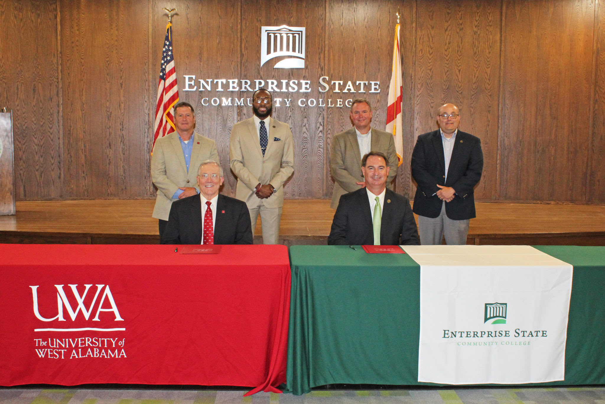 Enterprise State, UWA sign transfer articulation agreement