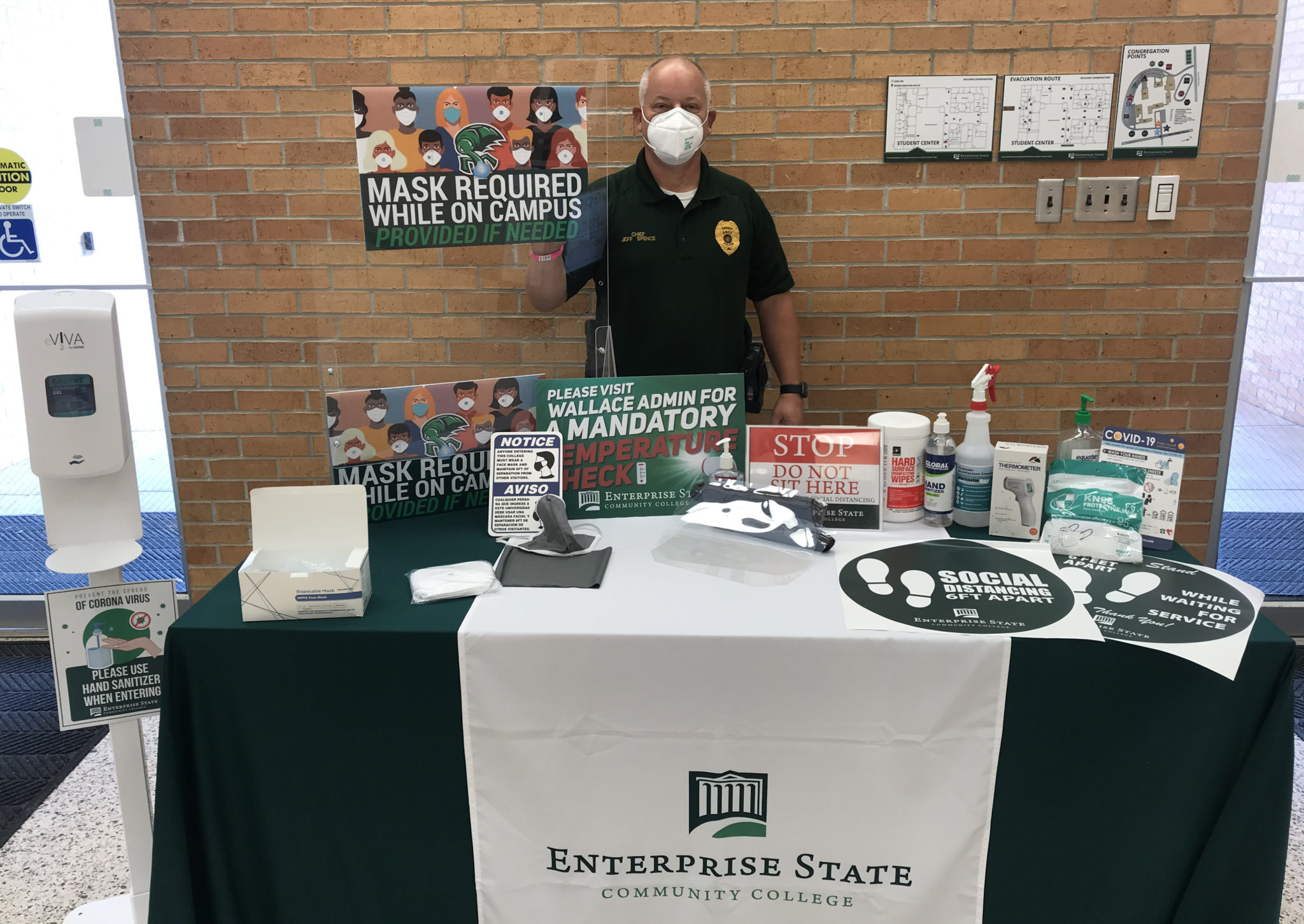 Safety a priority for ESCC, AAC this fall